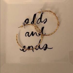 Stella & Dot Hoop Earrings
